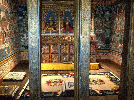 Zhiwa Ling  Buddhist Prayer Room within the suite. Buddhist Prayer Room within the suite   Picture of Zhiwa Ling