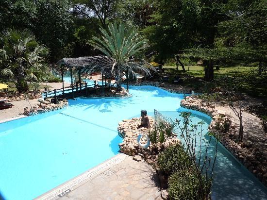 Sarova Shaba Game Lodge : the pool