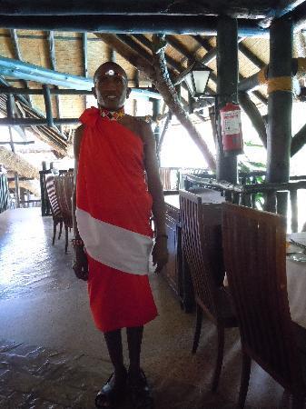 Sarova Shaba Game Lodge : the samburu man