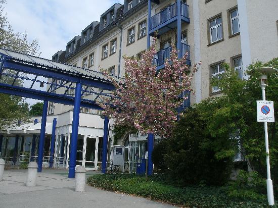 Gera, Niemcy: Hotel von außen
