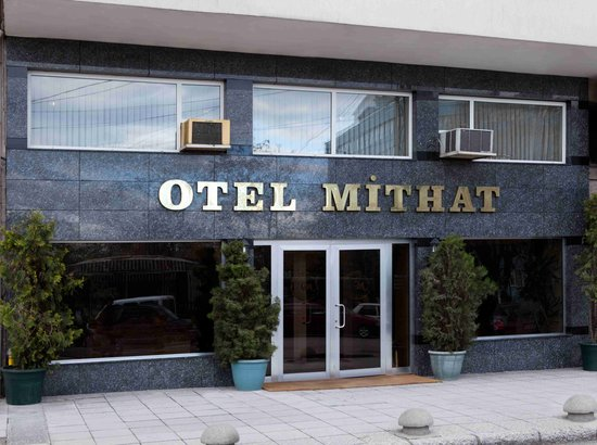 Hotel Mithat: Entrance