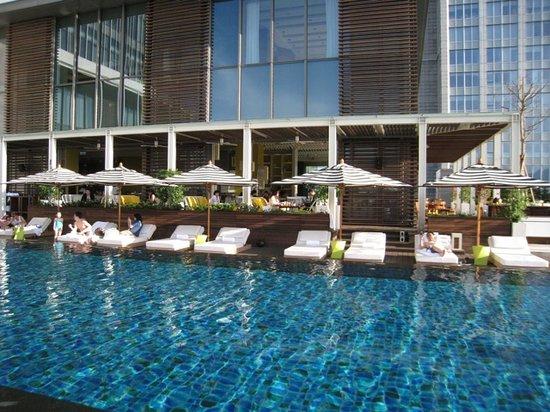 W Taipei: Perfect poolside ...