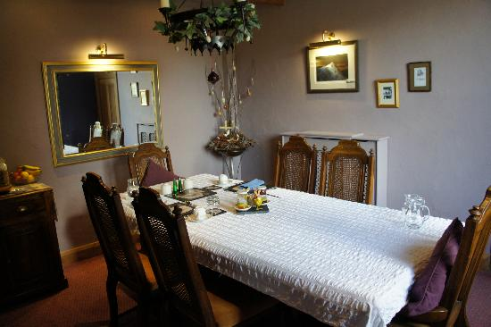 Pengwern Country House: Dining room