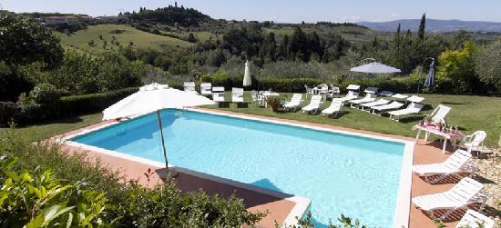 Villa Il Borraccio : villa with pool