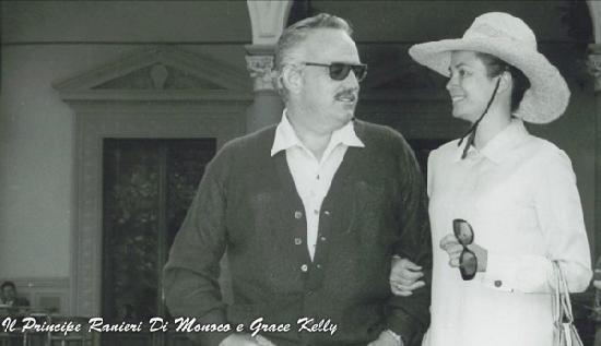 Grace Kelly and Ranieri of Monaco at the Grand Hotel & La Pace