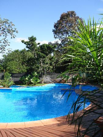 La Aldea de la Selva Lodge: Swimming pool