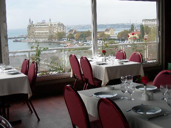 Rihtim Otel: restaurant
