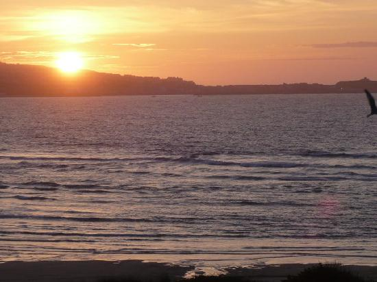 The Penellen Hotel: Sunset at St-Ives Bay
