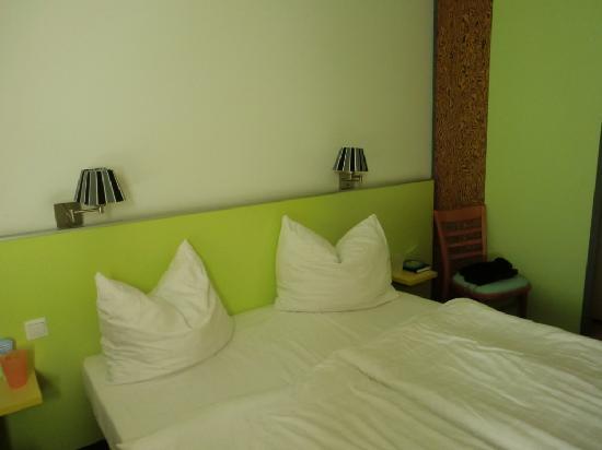 Atlantic Hotel am Flötenkiel: Bett
