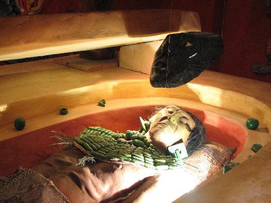 San Cristobal de las Casas, México: Museo Mesoamericano del Jade - Tumba de Pakal