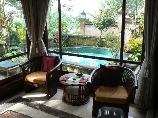 Pita Maha Resort and Spa: View out toward river.