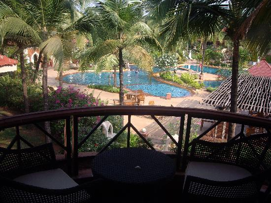 Caravela Beach Resort: Balcony view