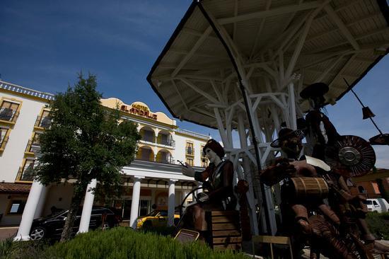 "Hotel ""El Andaluz"" Europa-Park: Aussenansicht 4-Sterne Erlebnishotel ""El Andaluz"""