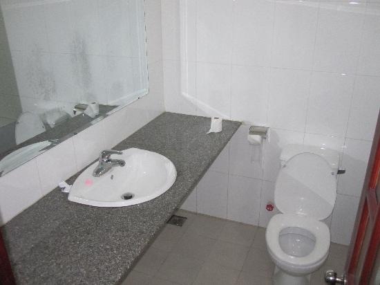 Valentine Hotel: Bathroom