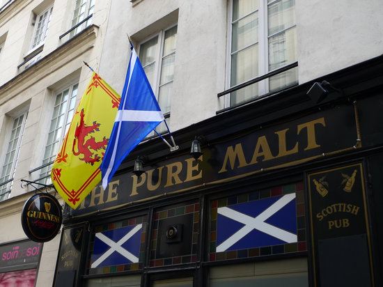 The Pure Malt : Paris's ONLY Scotish owned, Scottish pub.