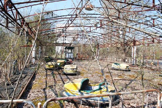 Reactor No 4: Abandoned amusementpark
