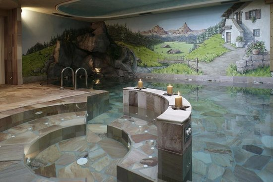 Ziano di Fiemme, Italia: Hotel Al Polo Val di Fiemme - piscina