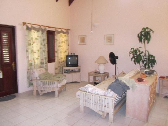 Ocean View Villas, Bonaire: Sitzgruppe