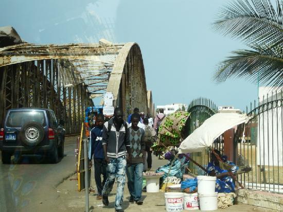 Saint-Louis, Сенегал: Pont Faidherbe