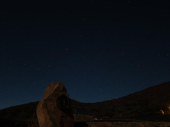 Mauna Kea Summit: Crystal Clear skies, Stars were less visible only because of the full moon that night