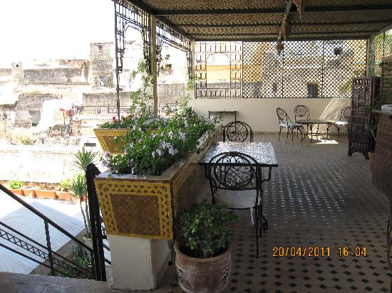Dar el-Ghalia: terrasse
