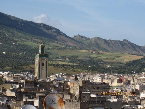 Dar el-Ghalia: vue de la terrasse