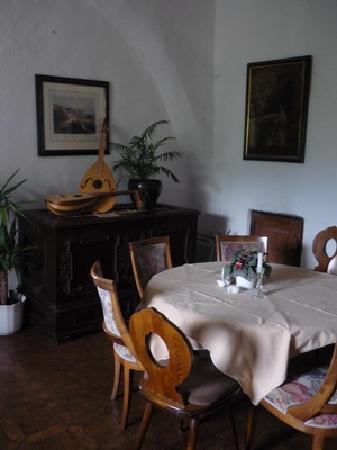Castello Thurnstein: Kleines Speisezimmer