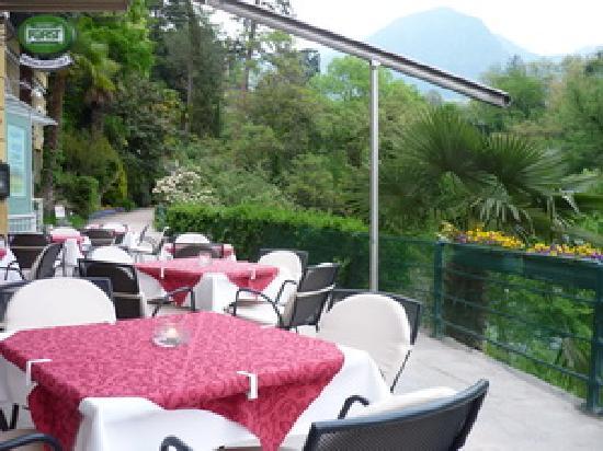 Gilf Restaurant: Terase Gilf