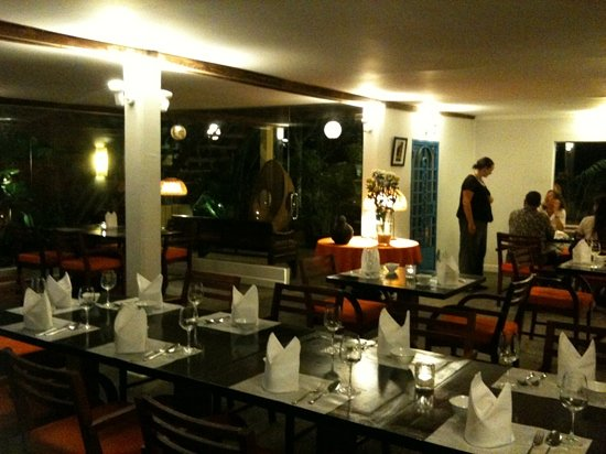 Cuisine Wat Damnak: its charming interior