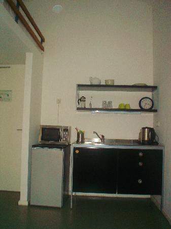 Ima Loft Apartment: l'angolo cottura