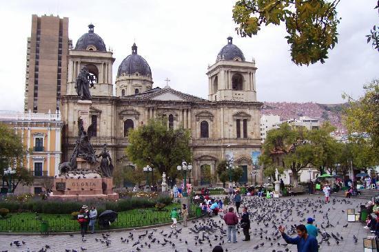 La Paz, Bolivia: Cathedral on Plaza Murillo