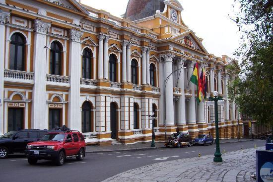 La Paz, Bolivia: Plaza del Gobierno