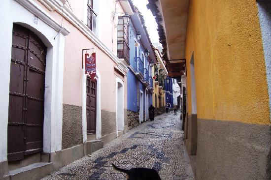 La Paz, Bolivia: Calle Jaen