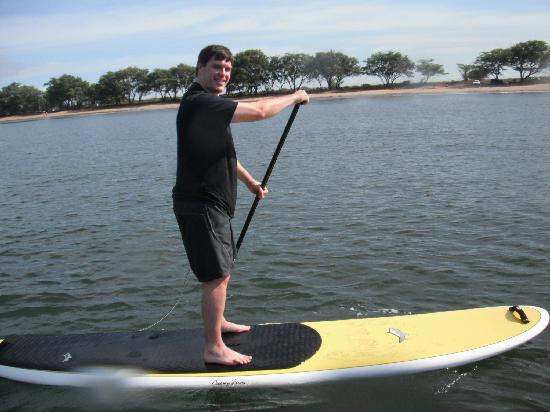 Paia, HI: If I can standup paddleboard, so can you.