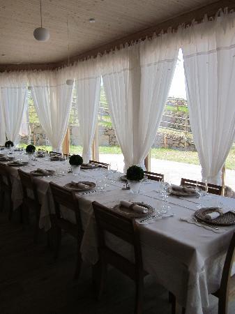 Agriturismo La Stropaia: Il ristorante