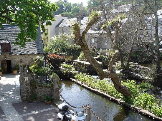 Hostellerie le Moulin de Rosmadec: vue hotel