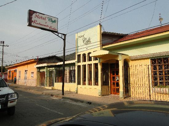 Hotel Cafe Jinotega : ingresso