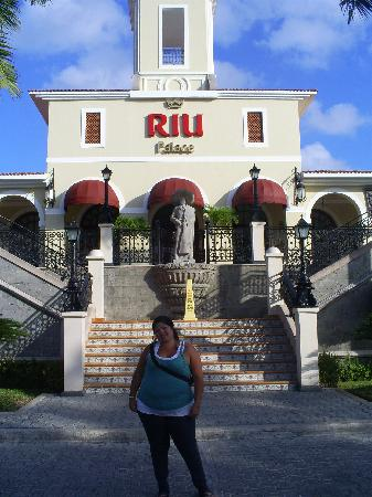 Hotel Riu Palace Mexico: entradaa