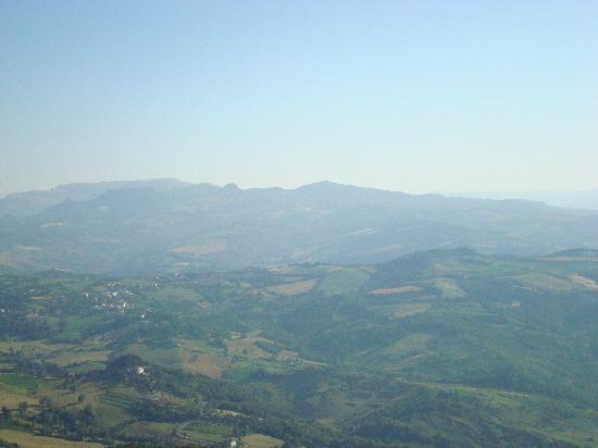 Varese, Italy: La vista sopra