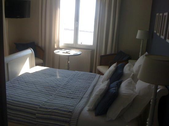 Barneville-Carteret, Frankrike: chambre avec vue sur mer