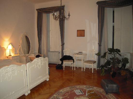 Hotel Kalvin House: Vue de la chambre