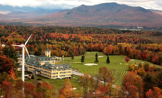 Whitefield, NH : Fall in the White Mountains