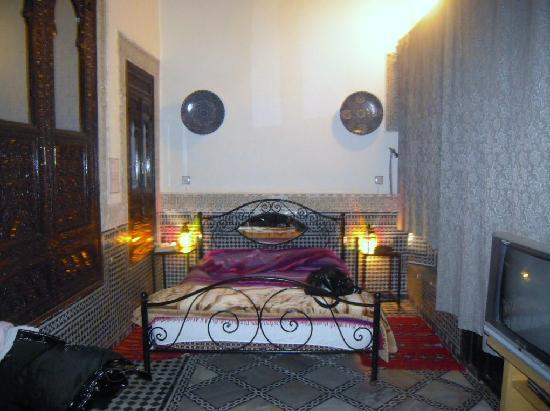 Riad Hala: La chambre