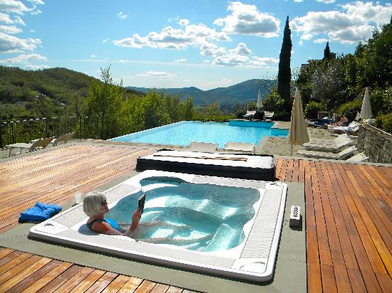 Locanda del Gallo: perfect place to relax after our hike