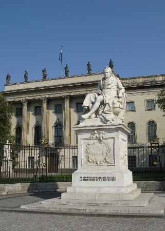 Humboldt University (Humboldt Universitat) : Einer der Namensgeber und seine Uni