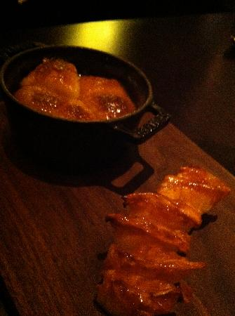 Tipsy Cake With Spit Roast Pineapple Picture Of Dinner