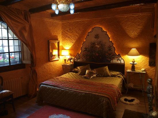 Las Moradas del Unicornio : Suite Unicornio Blanco-Dormitorio