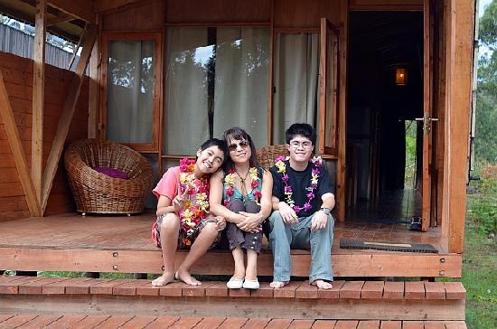 Cabanas Morerava: Familia Vergara Lee