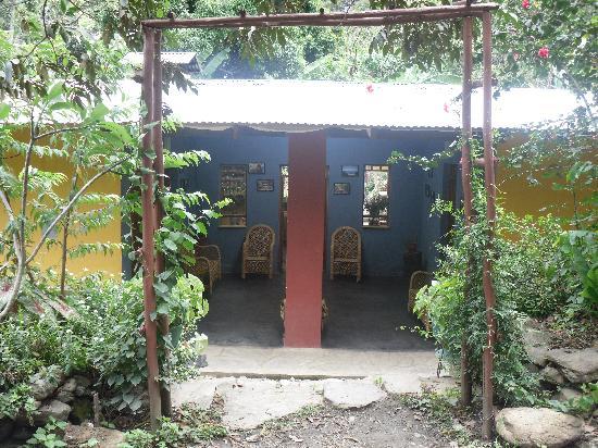 Yellow River: Our front door