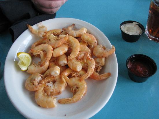 Harbor Docks: Boiled Shrimp Appetizer